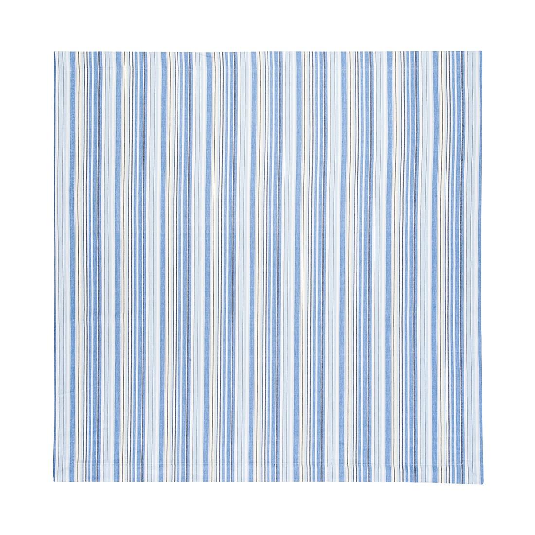 Tischdecke – Hellblau/Blau gestreift, Home24Deko online bestellen