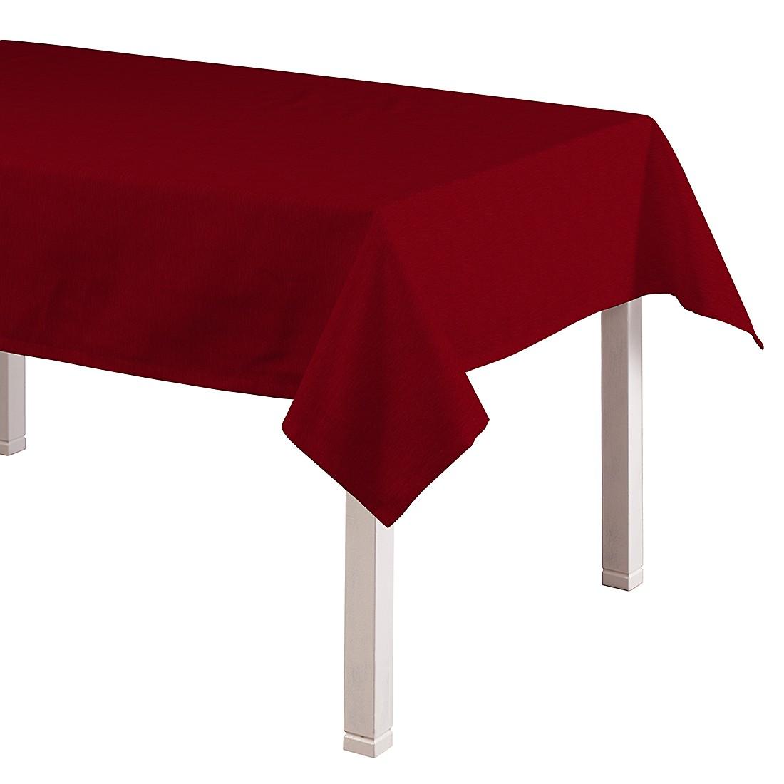 Tischdecke Atago – Bordeaux – 130 x 210 cm, Dekoria günstig bestellen