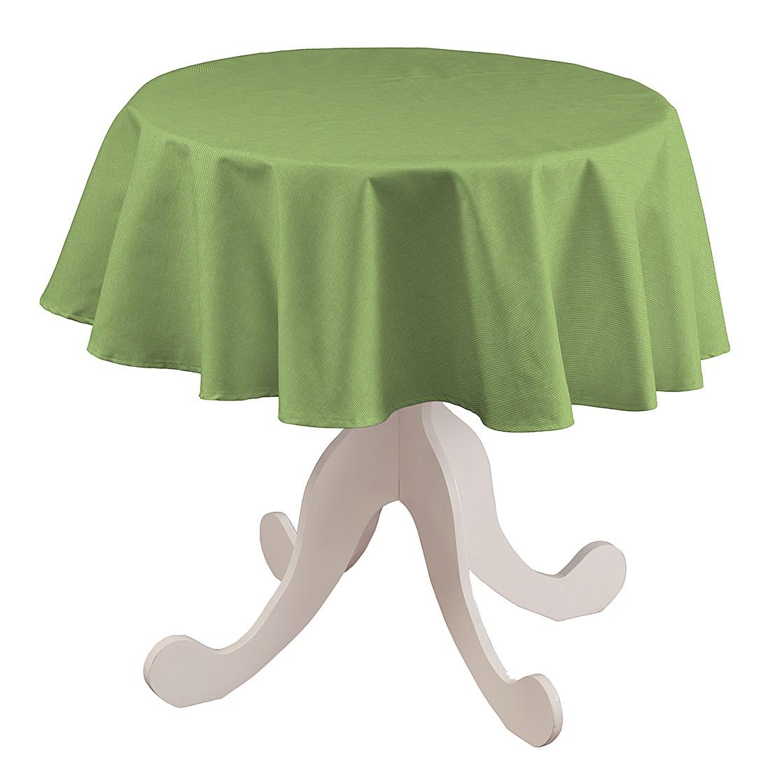 Tischdecke Atago Rund – Hellgrün – Ø 135 cm, Dekoria jetzt kaufen