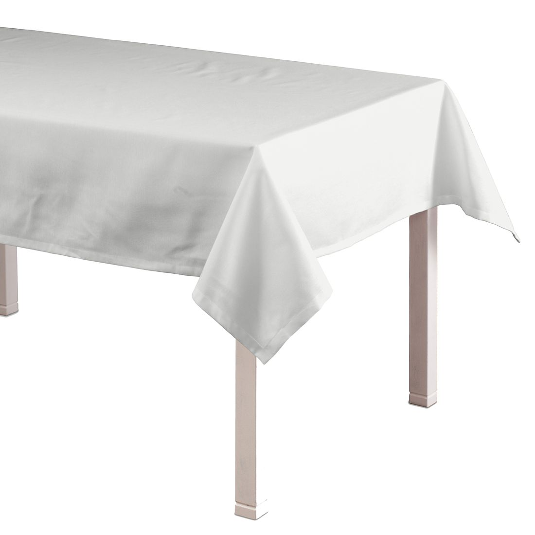 Tischdecke Loneta – Weiß – 130 x 250 cm, Dekoria jetzt kaufen