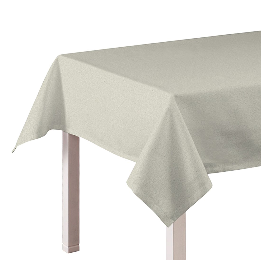 Tischdecke Loneta – Grau / Hellgrau – 130 x 160 cm, Dekoria jetzt kaufen