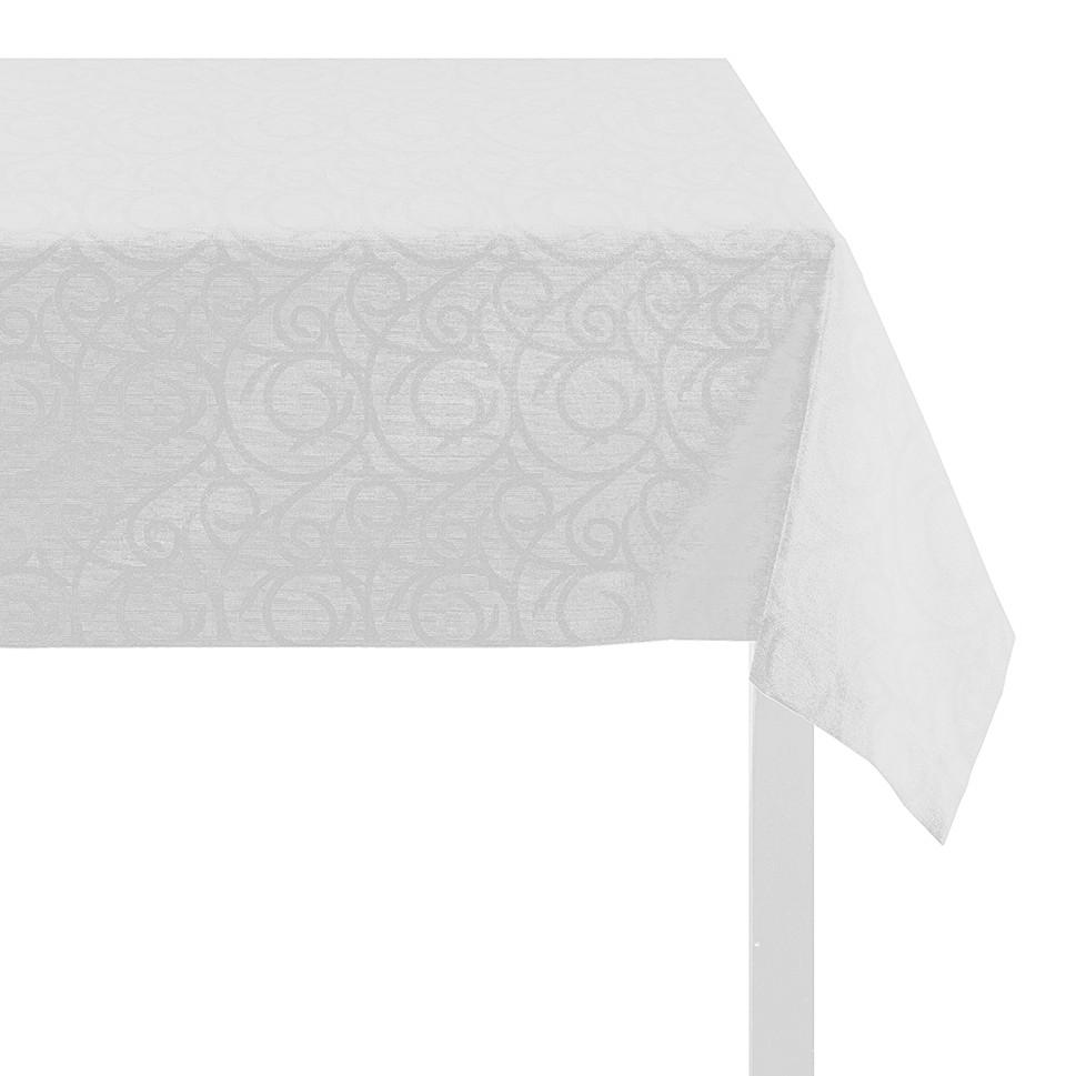 Tischdecke Ornamento – Weiß – 140 x 250 cm, Apelt günstig