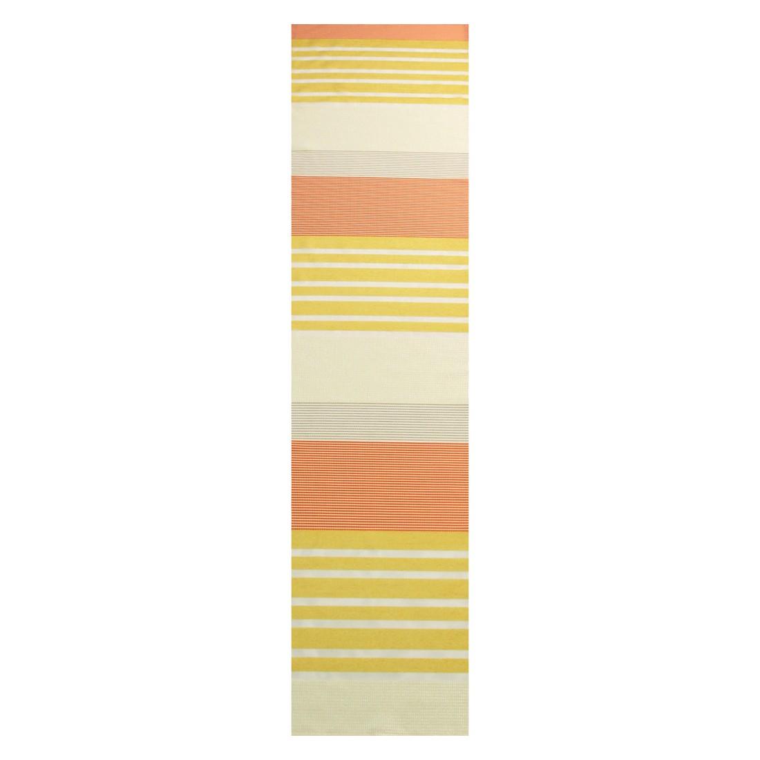 Tischläufer Biedermeier – Orange/Gelb – Transparent, MiBiento Living online bestellen