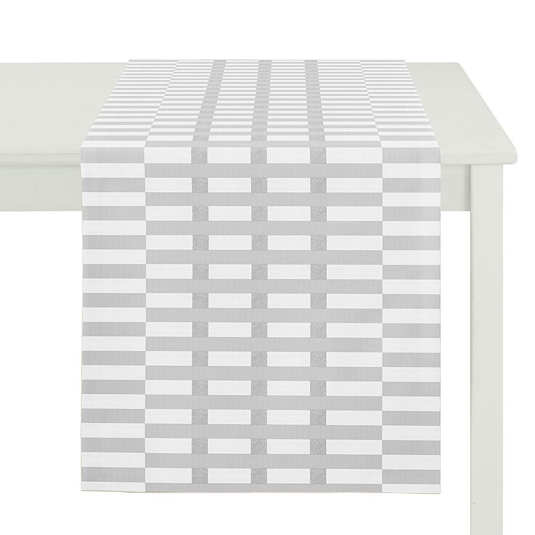 Tischläufer Calvin – Weiß, Apelt online kaufen