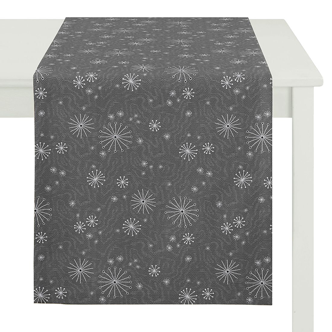 Tischläufer Christmas Elegance I – Grau, Apelt online bestellen