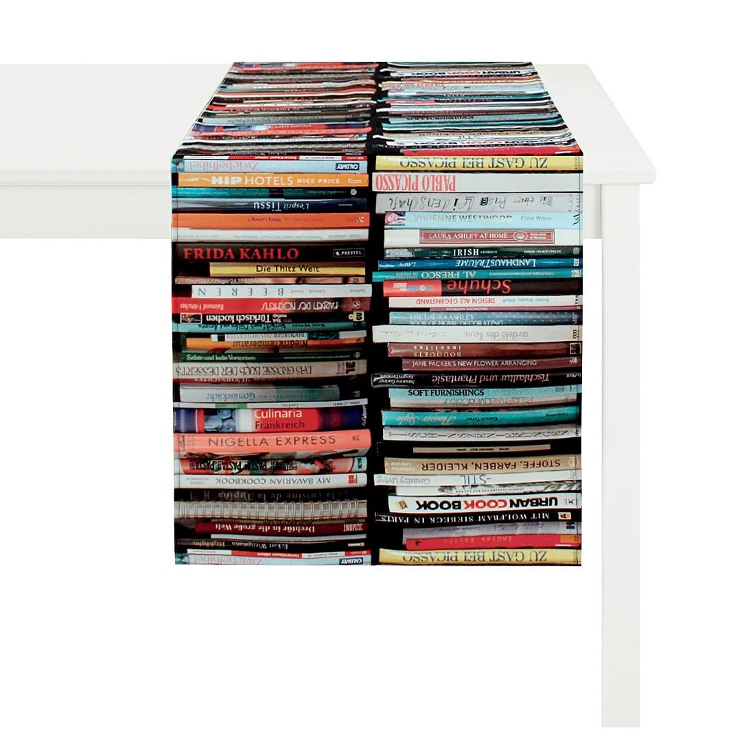 Tischläufer Libri – Bunt/Schwarz, Apelt günstig online kaufen