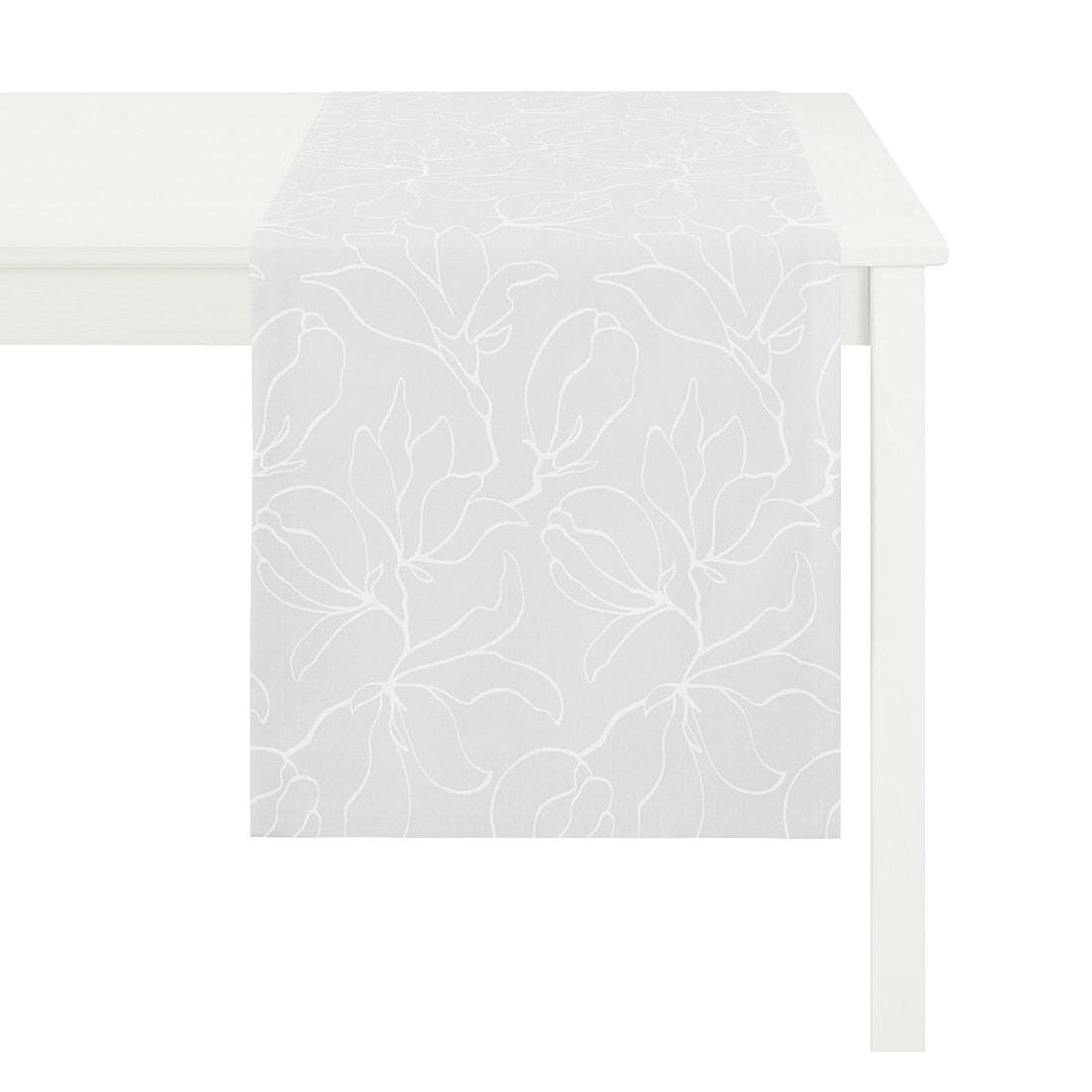 Tischläufer Magnolia – Anthrazit, Apelt jetzt kaufen