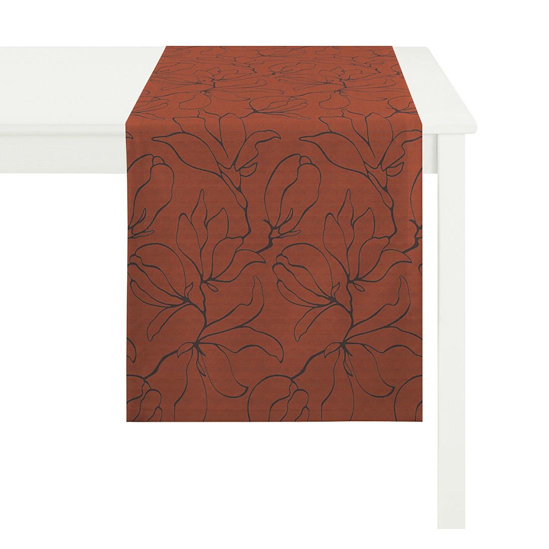 Tischläufer Magnolia – Orange, Apelt günstig online kaufen
