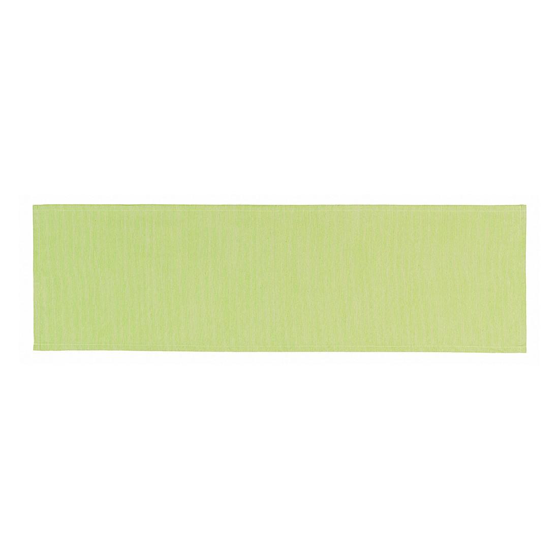 Tischläufer Needlestripe – Lime, Esprit Home günstig online kaufen