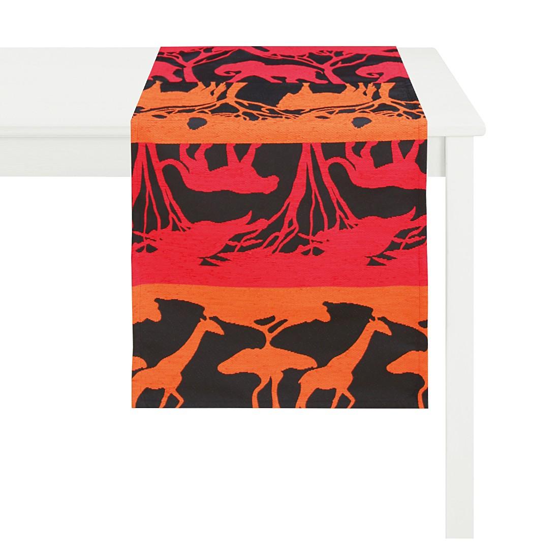 Tischläufer Safari – Rot, Apelt günstig