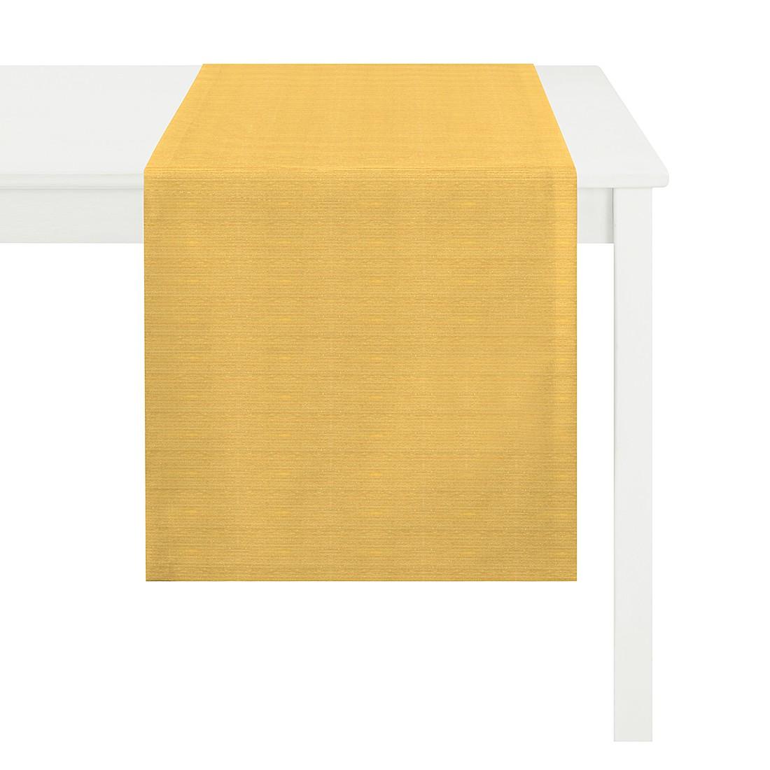 Tischläufer Tizian – Gelb, Apelt günstig