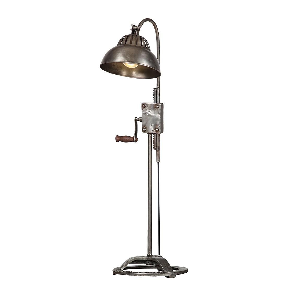 Tischlampe  Vanha II - Eisen - vernickelt - 1-flamming, furnlab