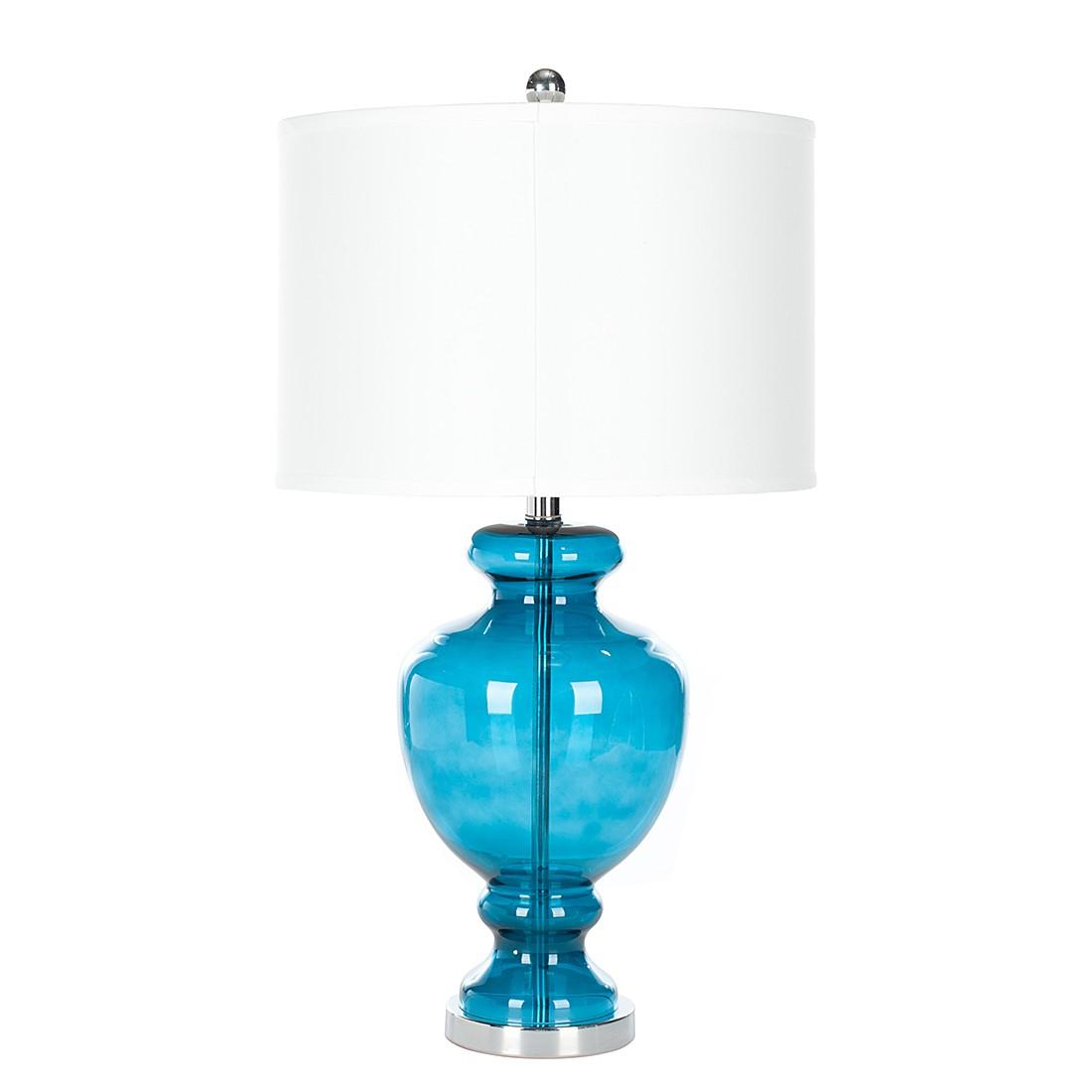 lampe de table arielle turquoise safavieh le fait main. Black Bedroom Furniture Sets. Home Design Ideas
