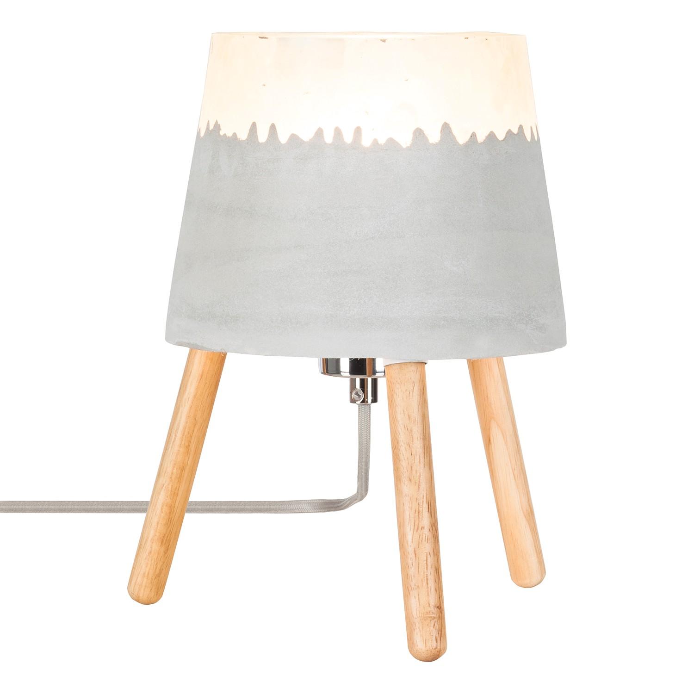 Tischleuchte Auno I ● Beton / Massivholz ● 1-flammig- Loistaa A++