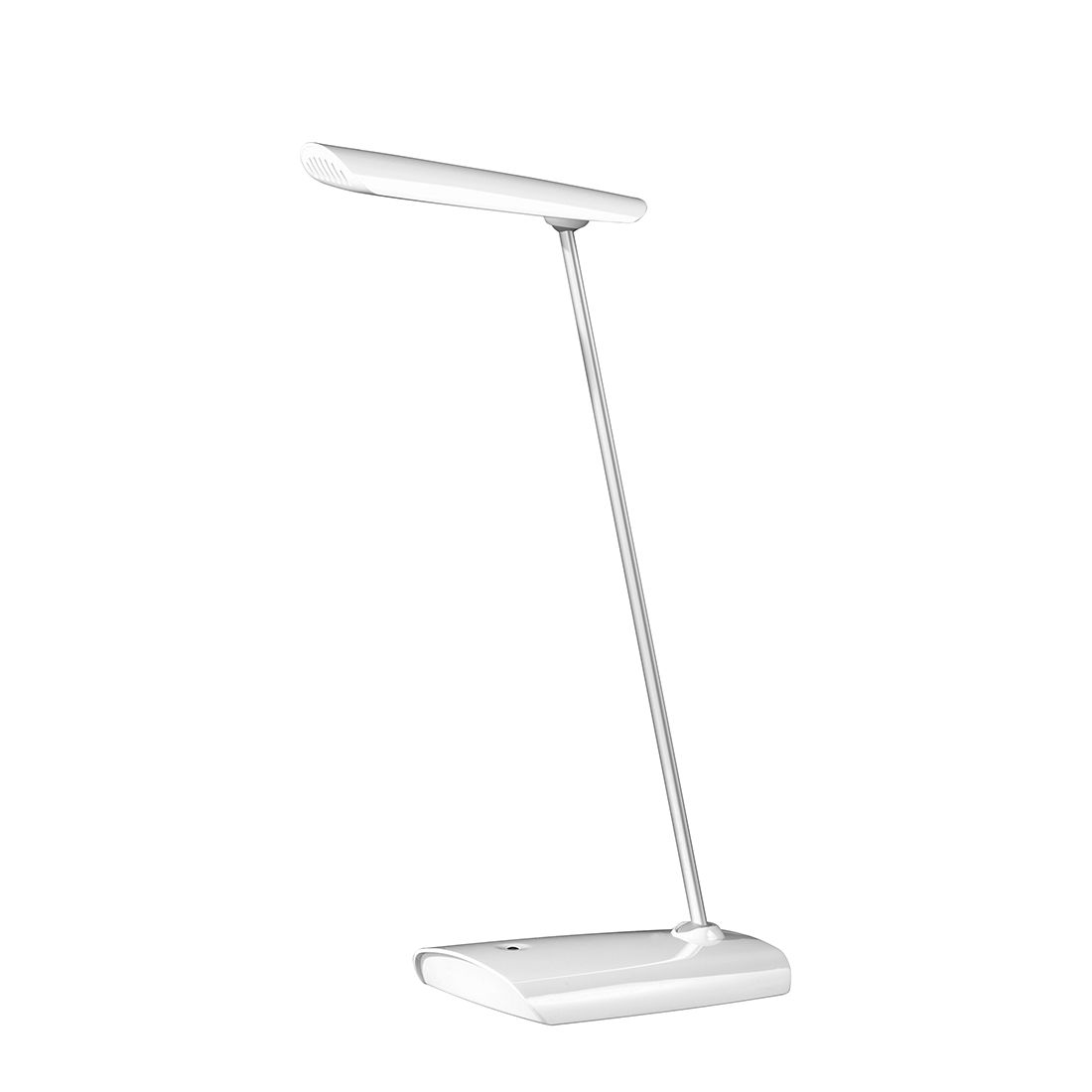 LED ● Tischleuchte Bocca by Honsel ● Metall ● Weiß- Honsel A+