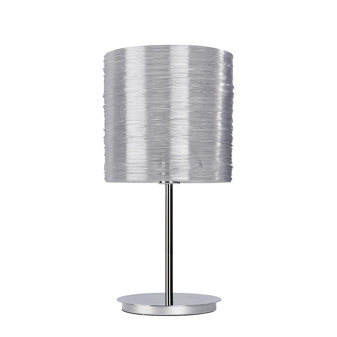 EEK A++, Tischleuchte Bright - Silber - 1-flammig, Sompex
