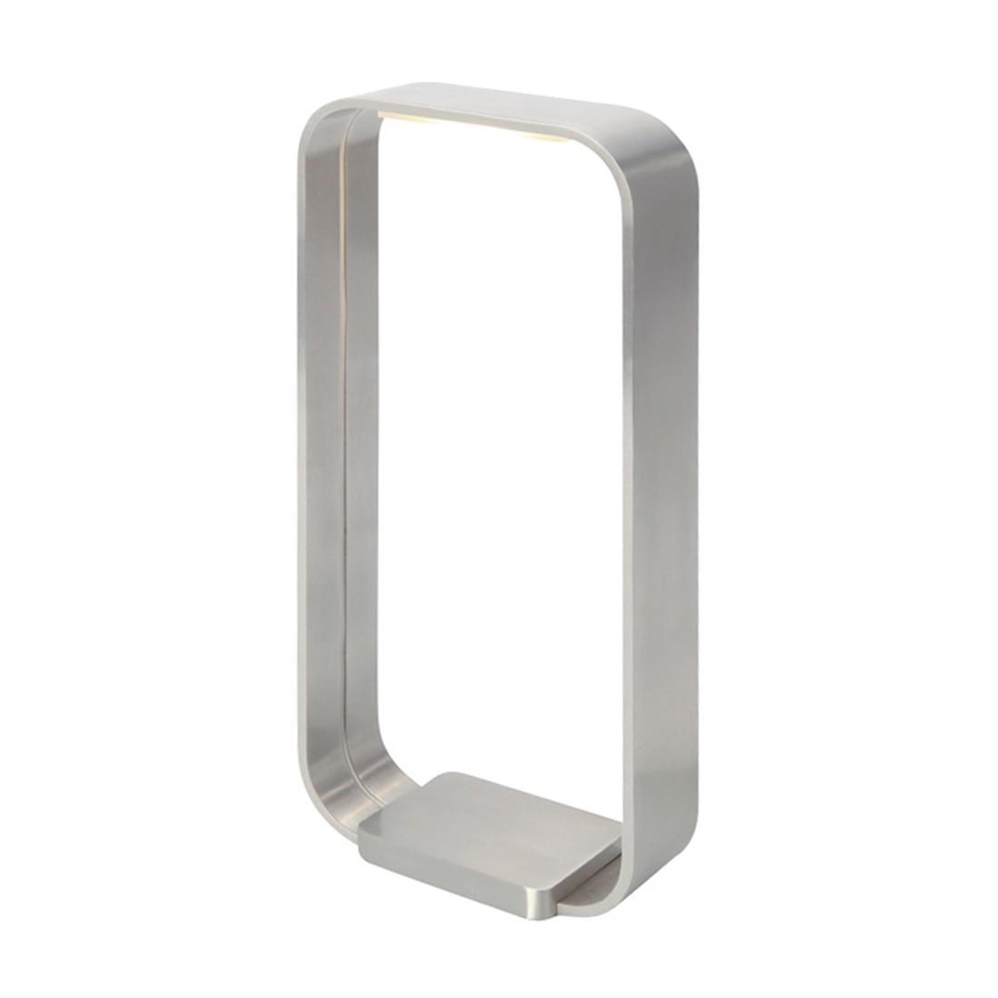 LED-Tischleuchte Cascade 1-flammig ● Nickel matt- Steinhauer A+