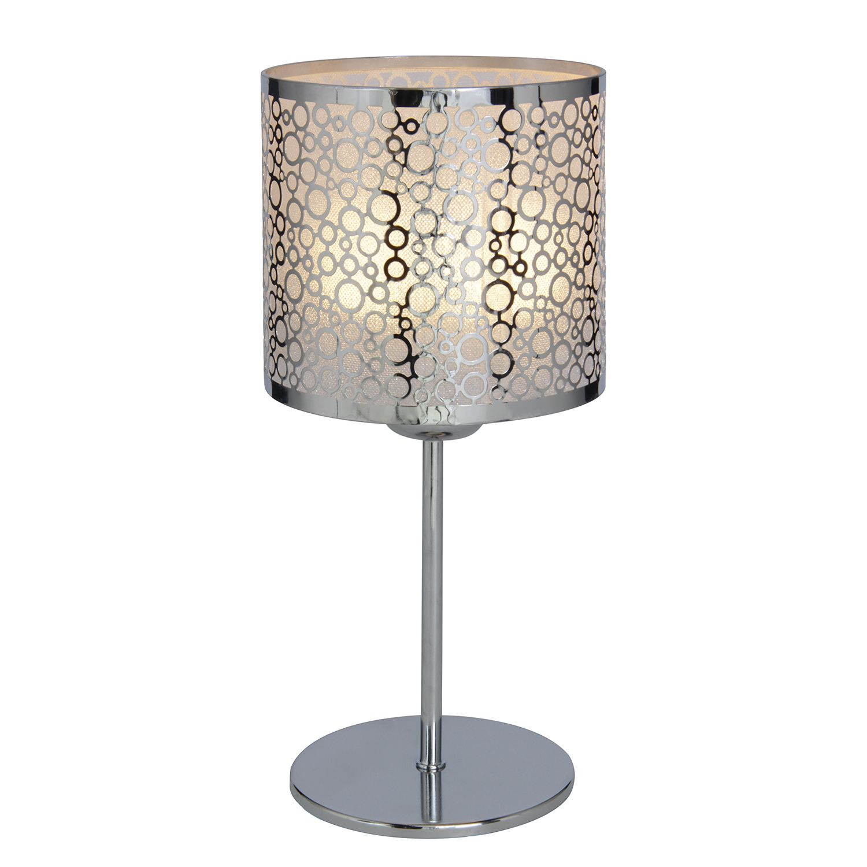 Tischleuchte Crystallo by Näve ● Metall/Kunststoff ● Silber ● 1-flammig- Näve A++