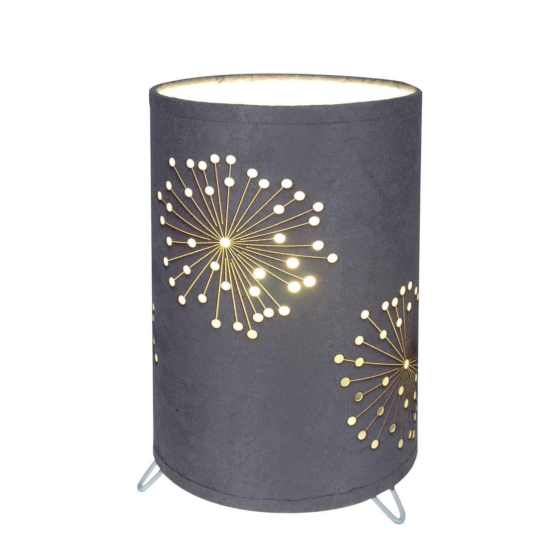 Tischleuchte Dandelion ● Metall/Kunststoff ● Silber ● 1-flammig- Näve A++