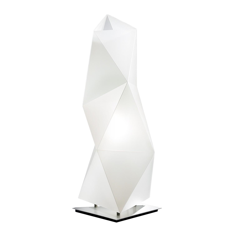 Tischleuchte Diamond 1-flammig ● Weiß Opalflex- Slamp A++