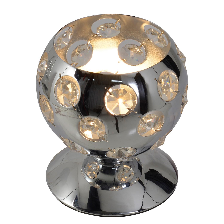 Tischleuchte Diamond by Näve ● Metall/Kunststoff ● Silber ● 1-flammig- Näve A++
