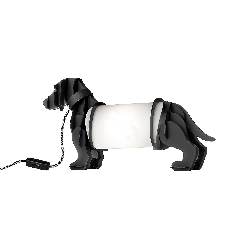 Tischleuchte Eldog ● Kunststoff ● Grau- Sompex A++