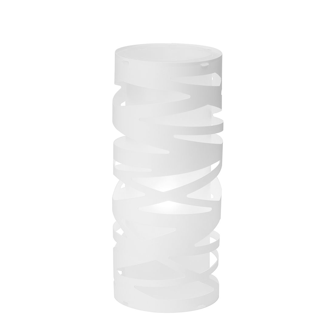 Tischleuchte Fina ● Kunststoff ● Weiß ● 1-flammig- Brilliant A++