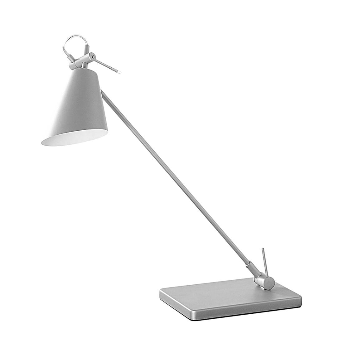 Tischleuchte First 1 LED ● Metall ● Grau ● 1-flammig- Blanke Design A+