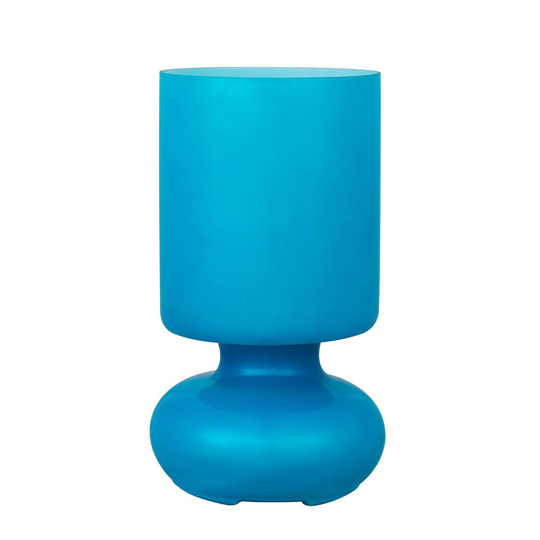 Tischleuchte Fuerte ● Glas ● Blau ● 1-flammig- Brilliant A++