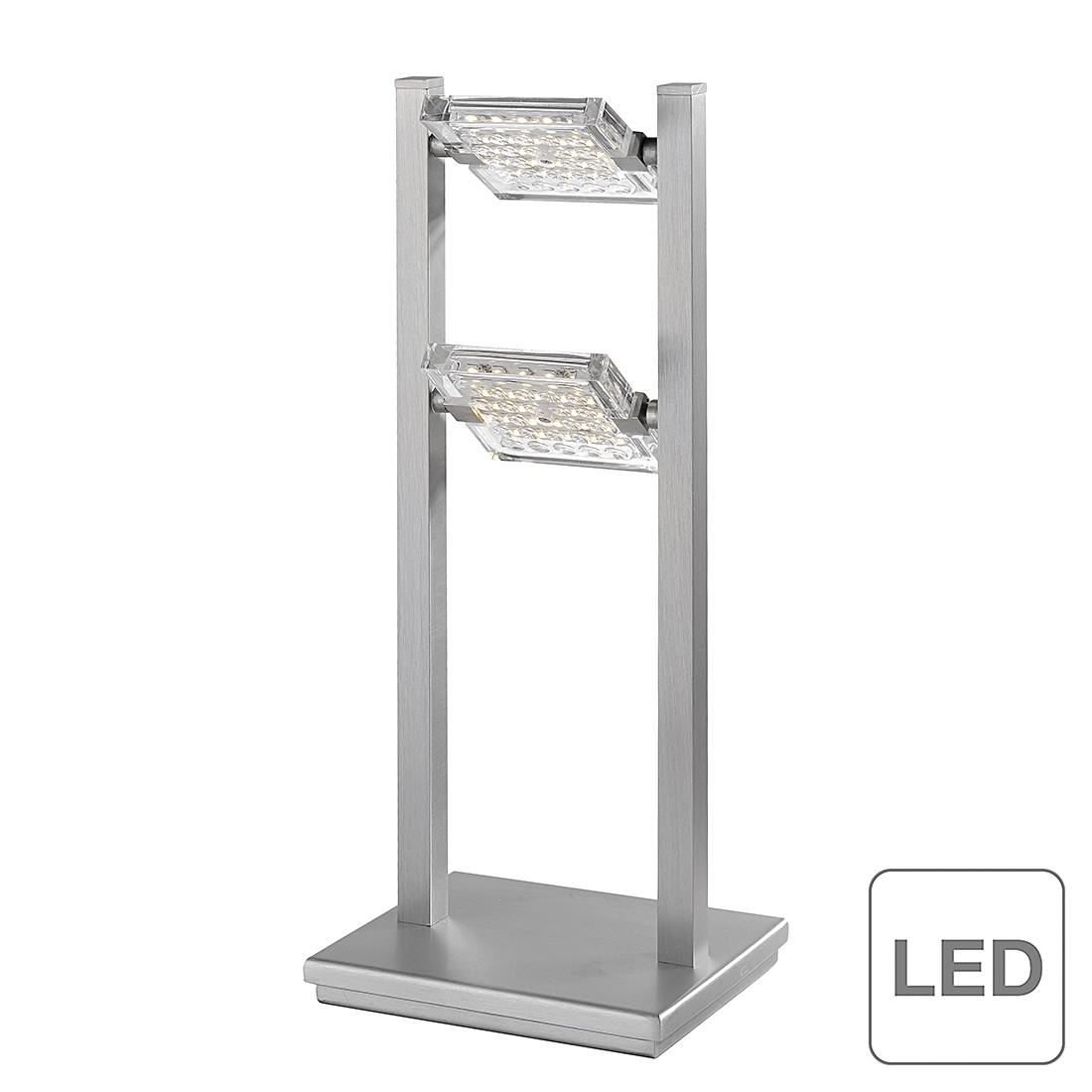 EEK A+, LED-Tischleuchte Futura - Metall/ Glas - Silber, Paul Neuhaus