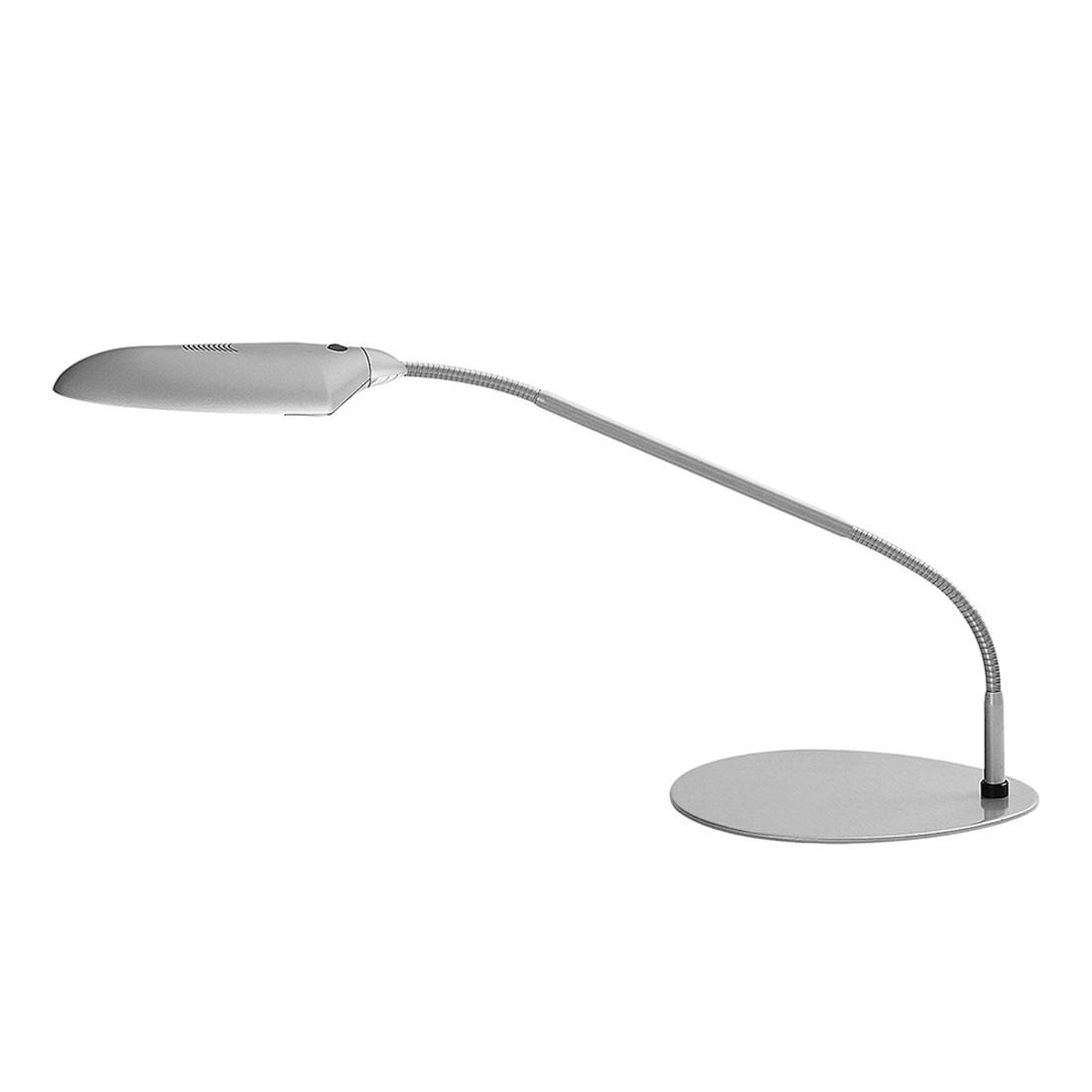 Tischleuchte GE ● Metall/Kunststoff ● Grau ● 2-flammig- Blanke Design A
