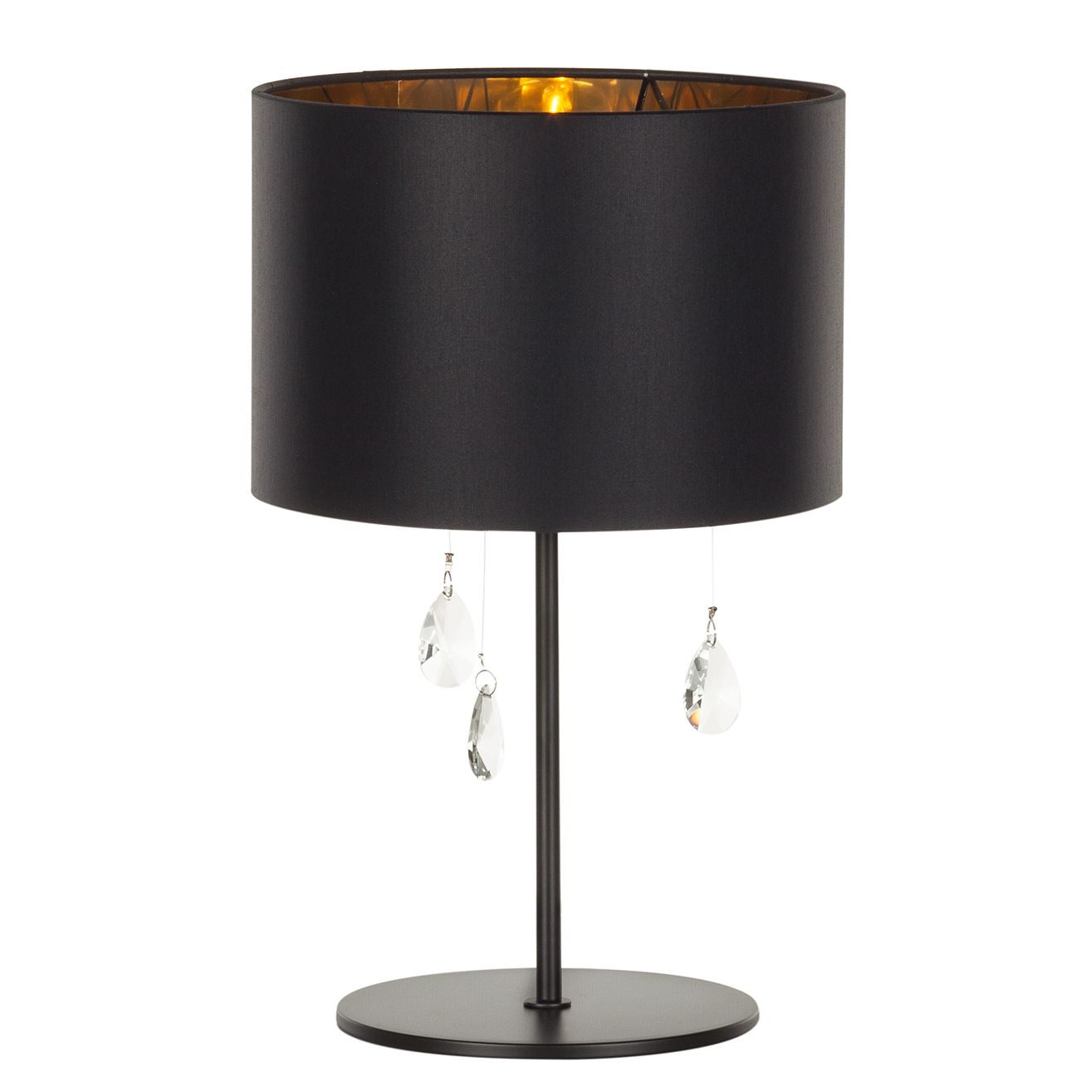 Tischleuchte Grace by Lampadina ● Metall/Glas ● Gold ● 1-flammig- Lampadina A++
