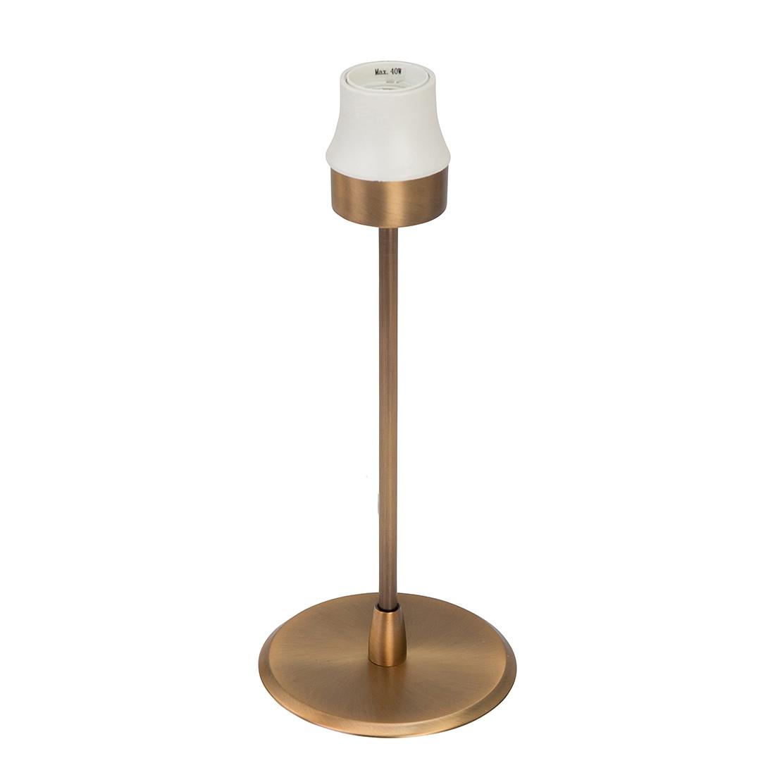 Touch-Tischleuchten-Armatur Gramineus 1-flammig ● Messing brüniert- Steinhauer A++