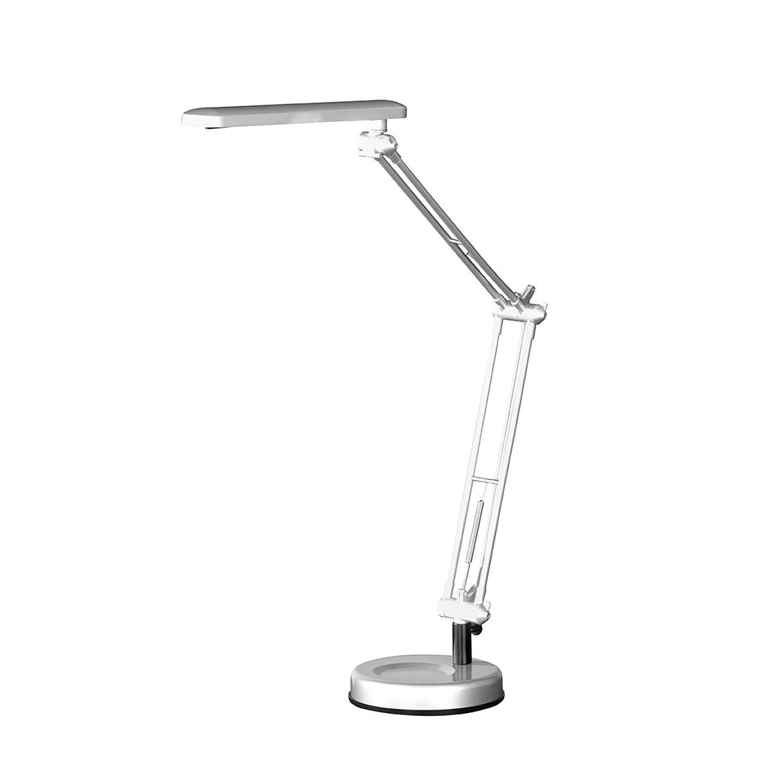 LED ● Tischleuchte Grua by Honsel ● Metall ● Silber- Honsel A+