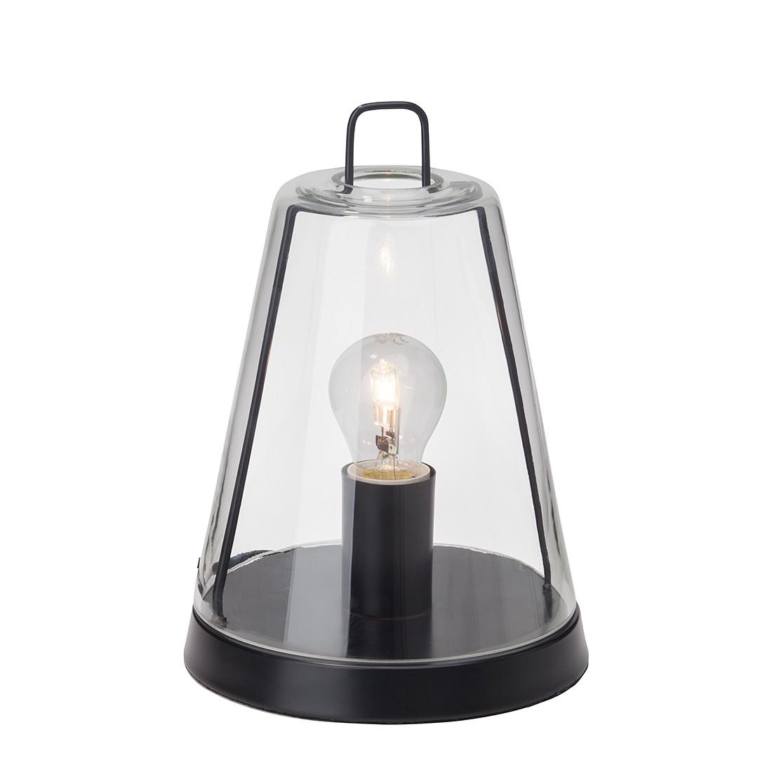 Tischleuchte Handy ● Metall/Glas ● Schwarz ● 1-flammig- Brilliant A++