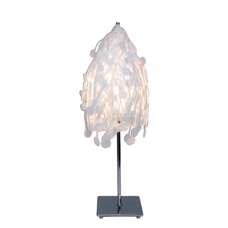 Tischleuchte Hera ● Kunststoff ● Weiß ● 1-flammig- Näve