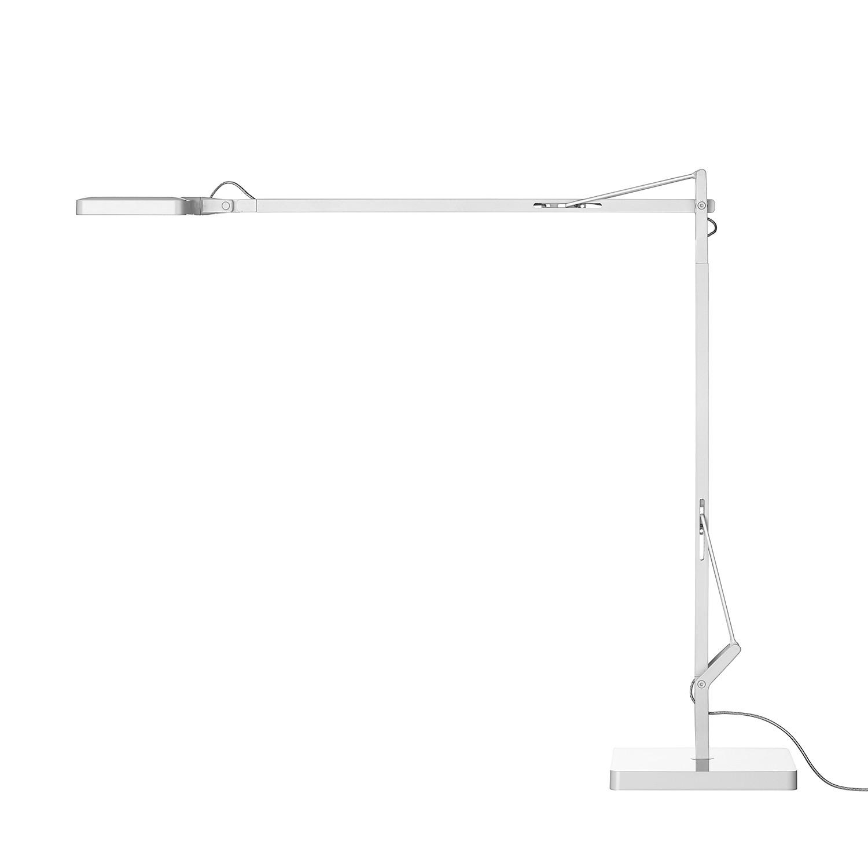 Tischleuchte Kelvin T ● Aluminium ● Weiß- Flos