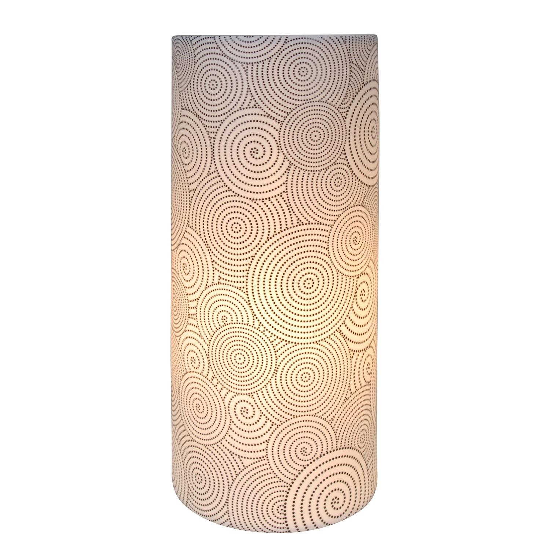 Tischleuchte ● Keramik ● Schwarz ● 1-flammig- Näve A++