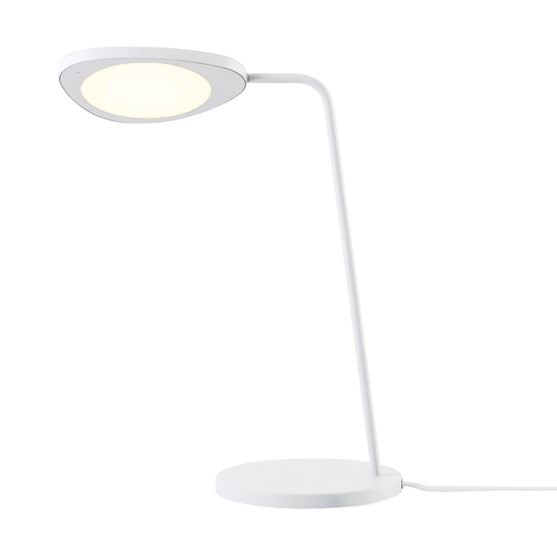 Tischleuchte Leaf LED ● Aluminium Weiß- Muuto