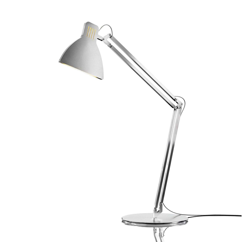 Tischleuchte Looksoflat ● Aluminium ● Silber- Ingo Maurer