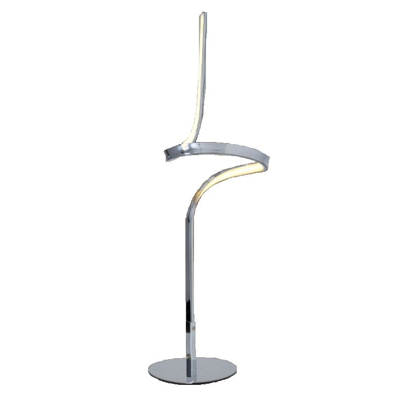 Tischleuchte Loop Line by Näve ● Metall/Kunststoff ● Silber ● -flammig ● -flammig- Näve A+