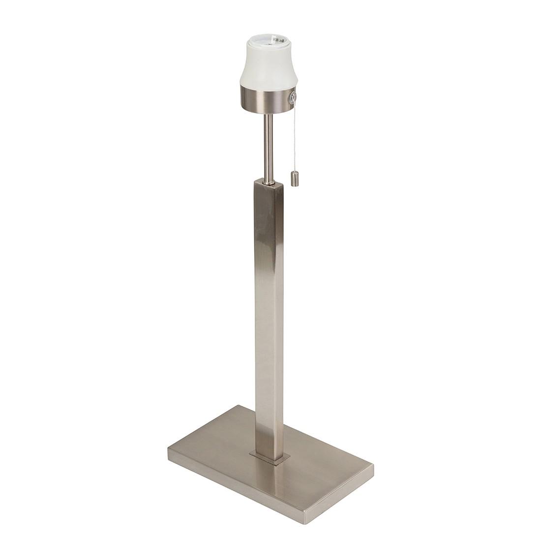 Tischleuchten-Armatur Louis 1-flammig ● Nickel matt- Steinhauer A++