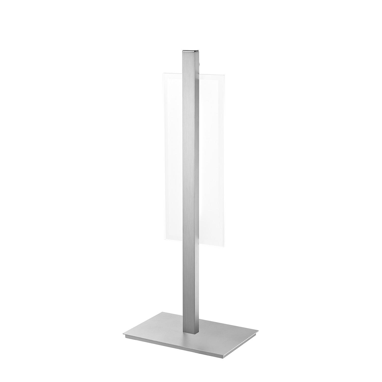 LED-Tischleuchte Ludo ● Aluminium ● Silber- Paul Neuhaus A+
