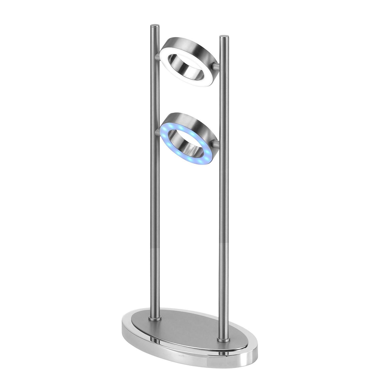 LED-Tischleuchte Luxring ● Eisen ● Silber- Paul Neuhaus A+