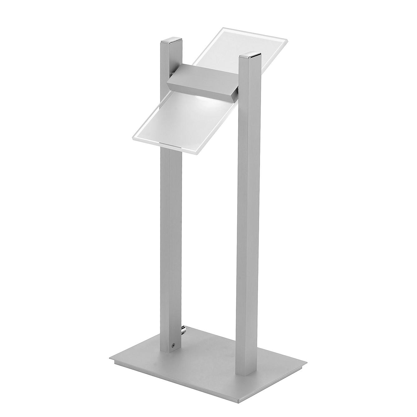 LED-Tischleuchte Pukka ● Aluminium ● Silber- Paul Neuhaus A++
