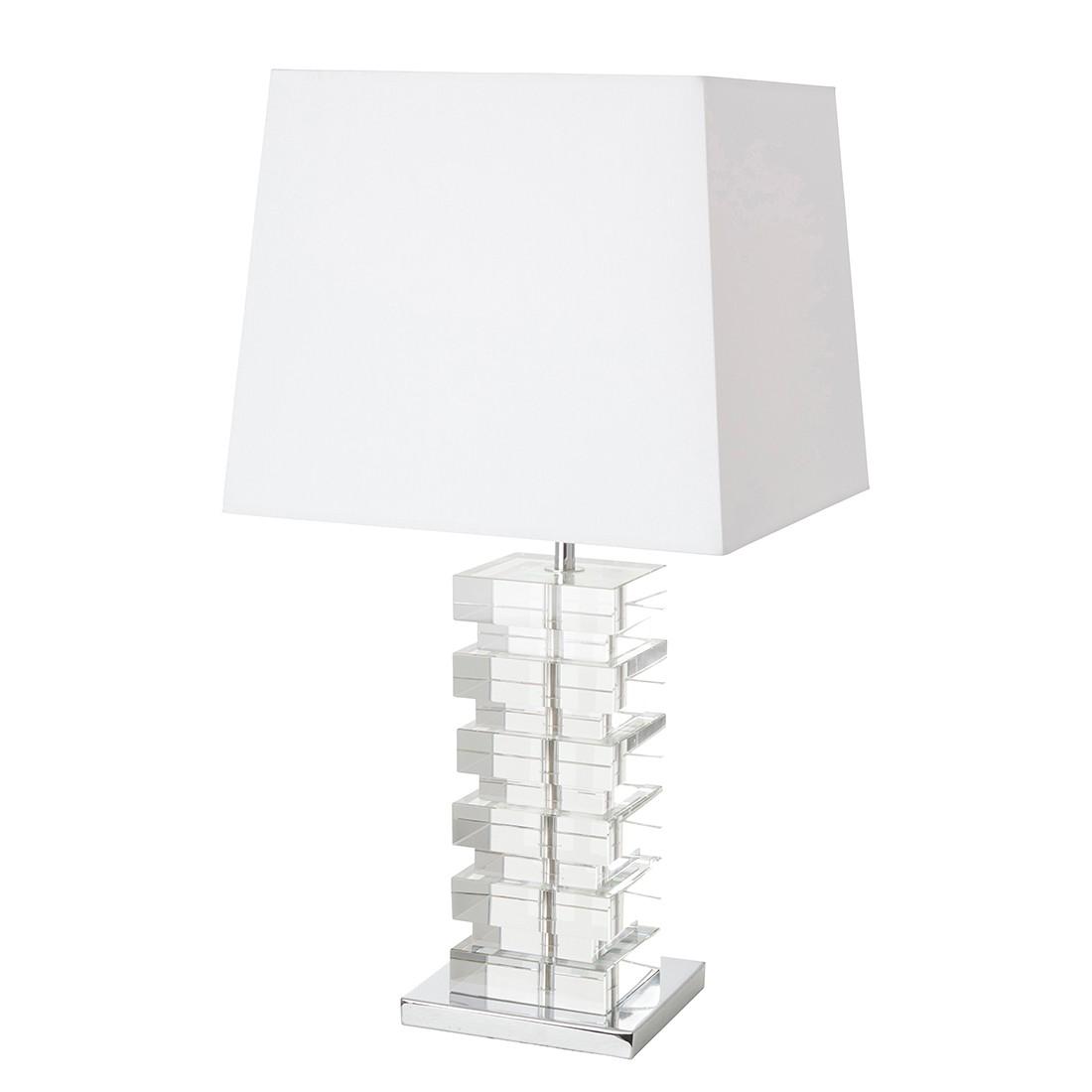 Tischleuchten-Armatur Rechthuy 1-flammig ● Weiß- Steinhauer A++