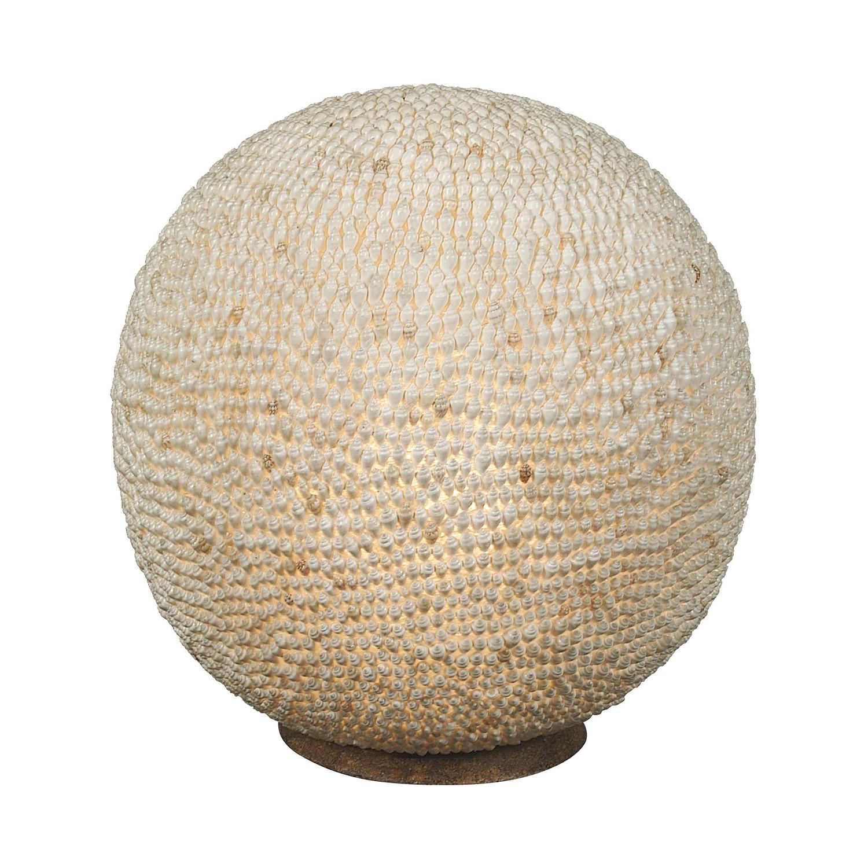 energie  A++, Tafellamp Sea Shell - schelpen beige 1 lichtbron, Näve