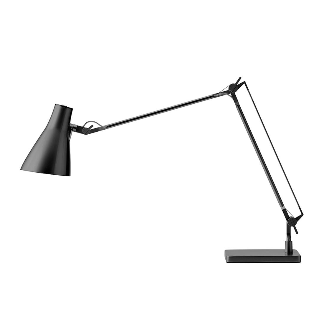Tischleuchte Solus 2 ● Metall/Kunststoff ● Schwarz ● 1-flammig- Blanke Design A+