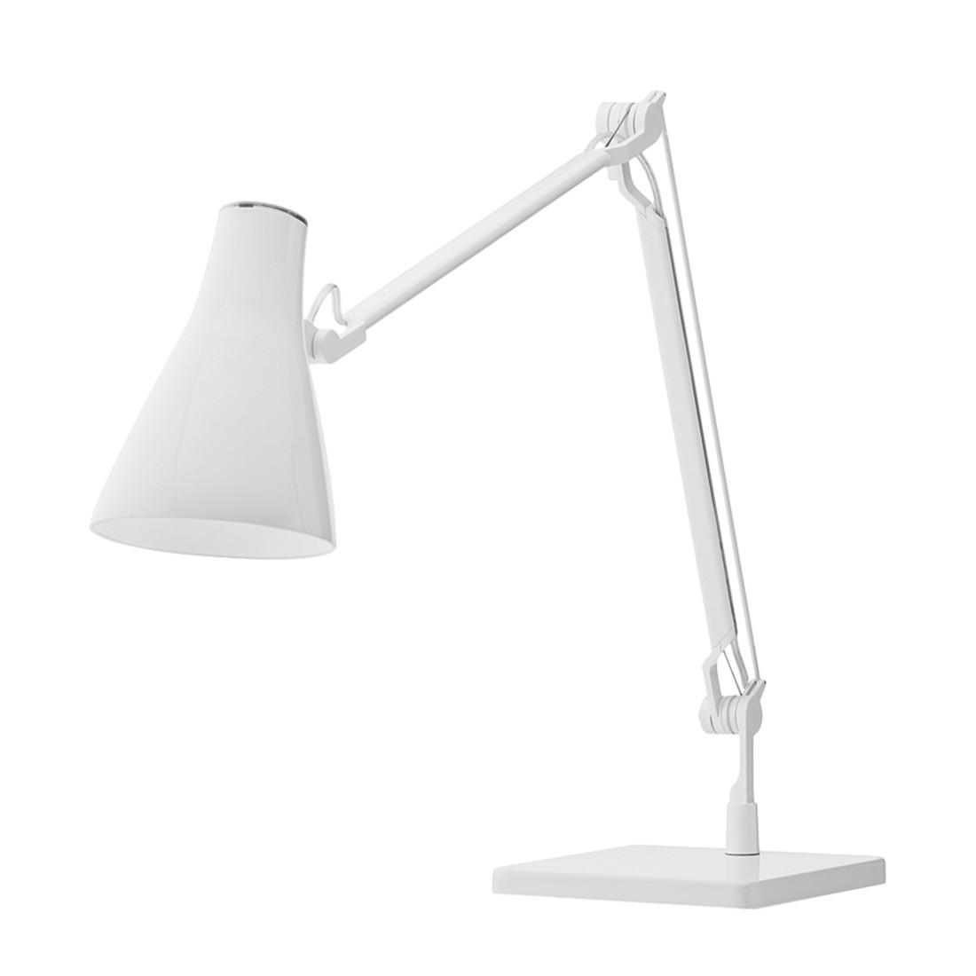 Tischleuchte Solus 2 ● Metall/Kunststoff ● Weiß ● 1-flammig- Blanke Design A+