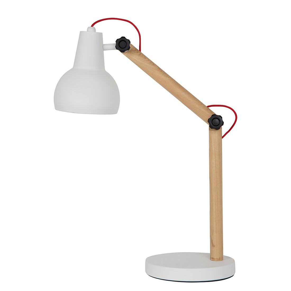 EEK A++, Tischleuchte STUDY – Metall/Holz – 1-flammig, Zuiver günstig online kaufen
